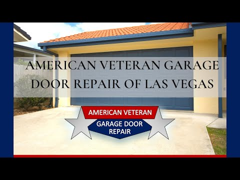American Veteran Garage Door Repair Las Vegas Youtube