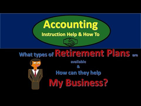 Retirement Plans for Small Business Options & How can they help My Business?