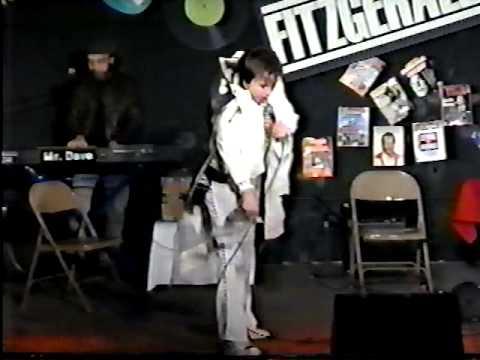 Bill Hicks as Elvis rehearsal Texas Outlaws Comics Look at '87 music