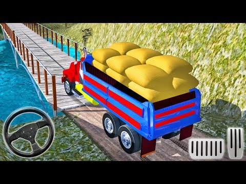 Cargo Indian Truck 3d New Offroad Truck Driving Android Gameplay Youtube