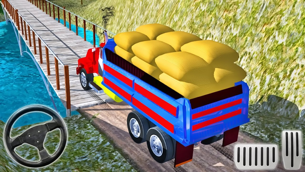 Cargo Indian Truck 3D New - Offroad Truck Driving - Android GamePlay