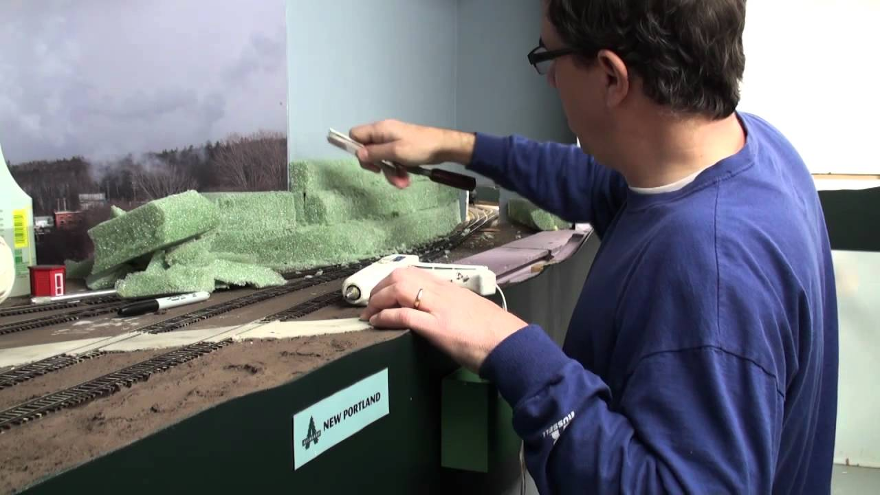 Building terrain with florist foam | Model railroad scenery how-to | Model  Railroad Hobbyist