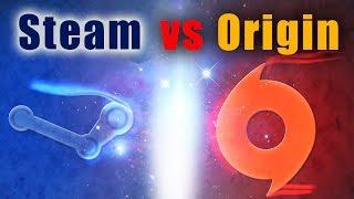 Origin дал леща Steam