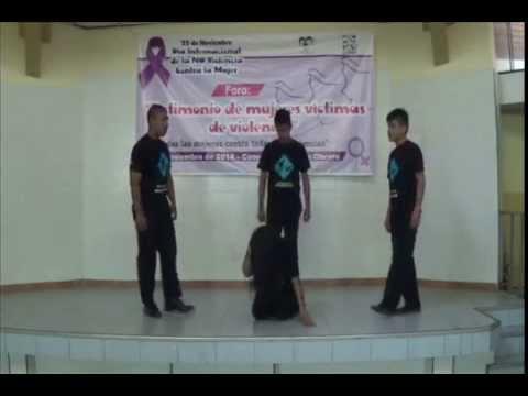 Juventud Kollek - Dramatización sobre La NO violencia hacia la MUJER