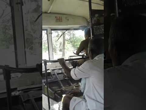Negligence of RTC Driver, Nagarkurnool to Kollapur road