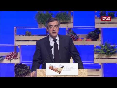 François Fillon face à la FNSEA