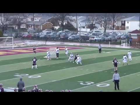 Thomas Marra Holy Cross '22 Lacrosse Highlight Reel