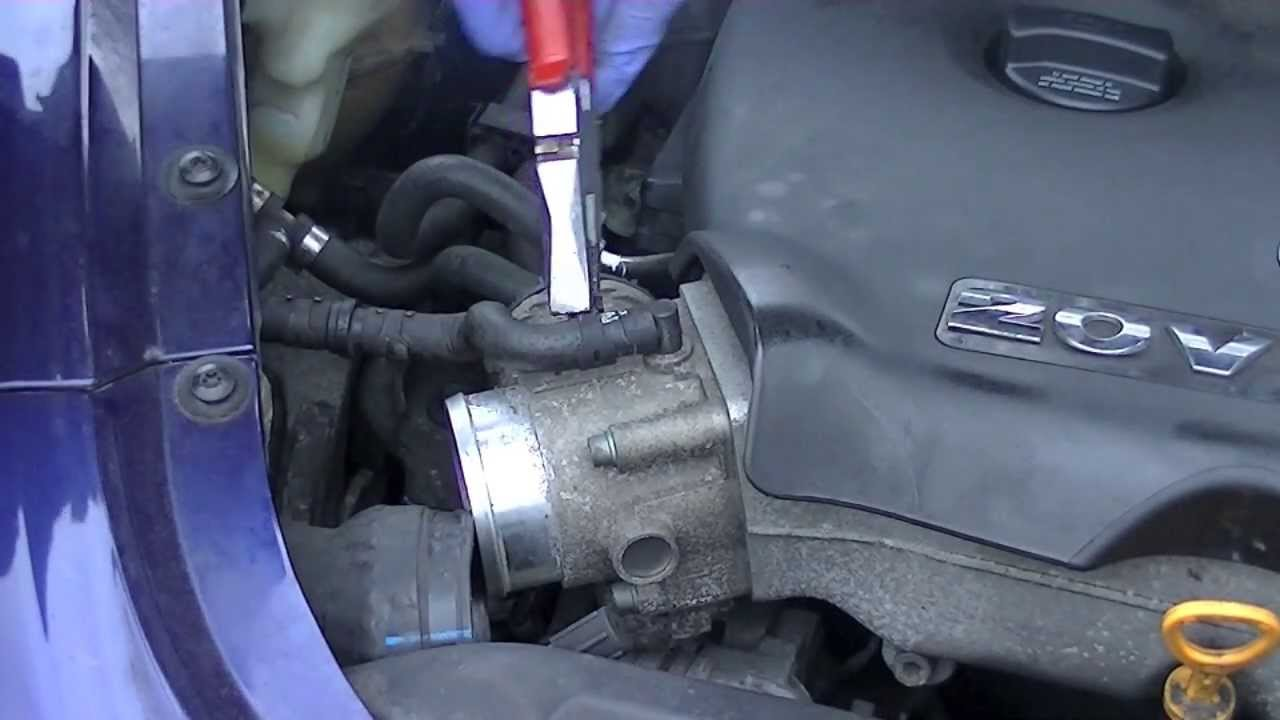 Epc Light Volkswagen >> VW Throttle Cleaning & Removal Quick & Easy Steps - YouTube