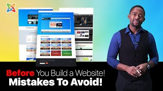 Mistakes to AVOID  Before You Build a Joomla Website