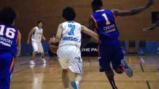 つくばロボッツvs三菱電機名古屋 バスケットボール 2015.3.1vol.14 五十...