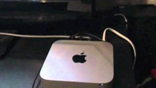 2011 Apple mac mini speaker demo