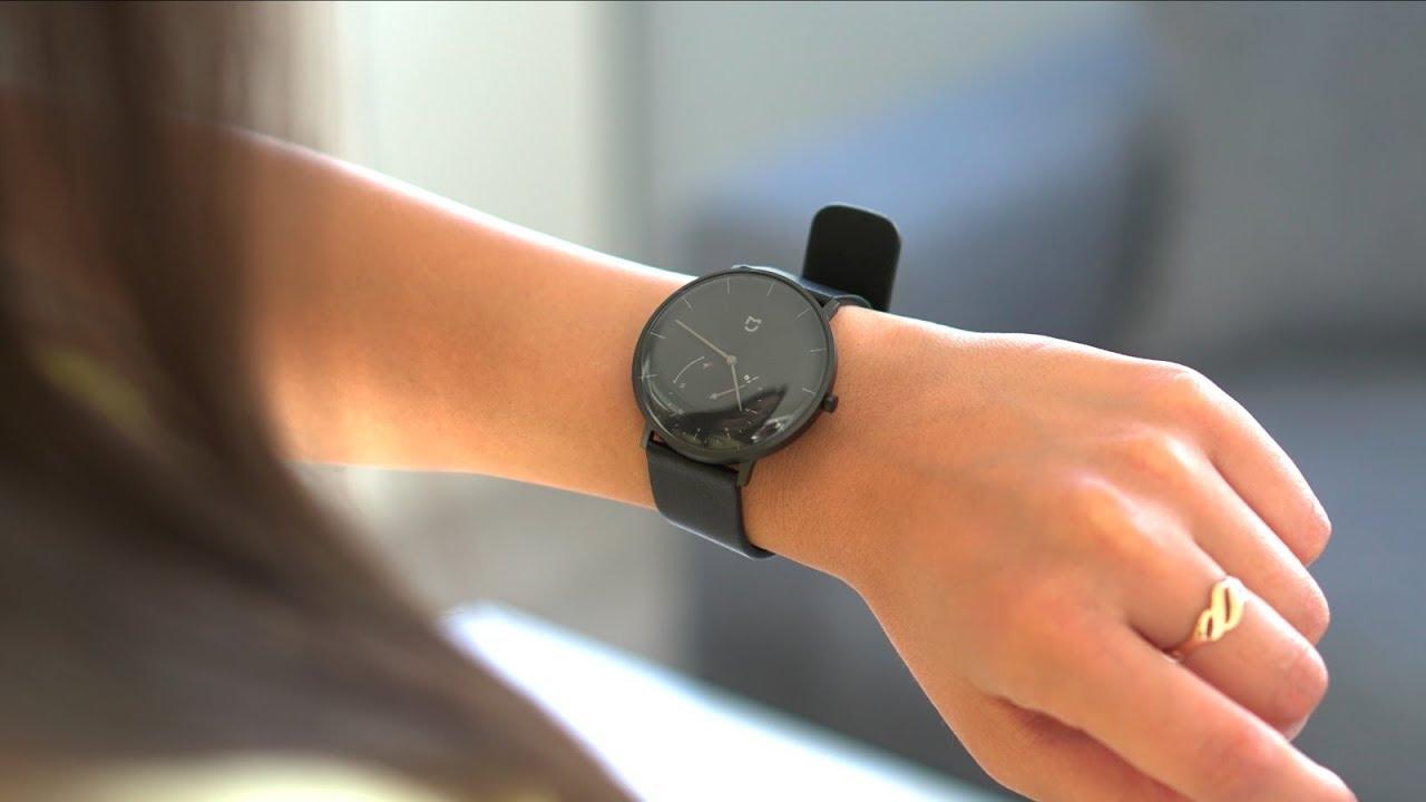 Xiaomi Mi Mijia Quartz Smartwatch   Review - YouTube
