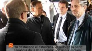 Marcelino Iglesias visita Olorón