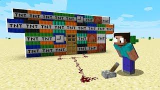 RISKIEST TNT BASE in Minecraft!