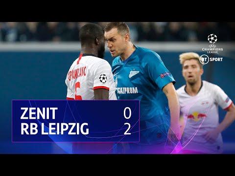 Zenit vs RB Leipzig (0-2) | UEFA Champions League Highlights