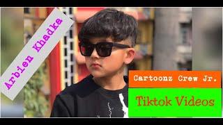 Viral Çocuk Sanatçı | Cartoonz Ekibi Jr | Arbien Khadka | Tiktok İnanılmaz Videolar-Musicallys