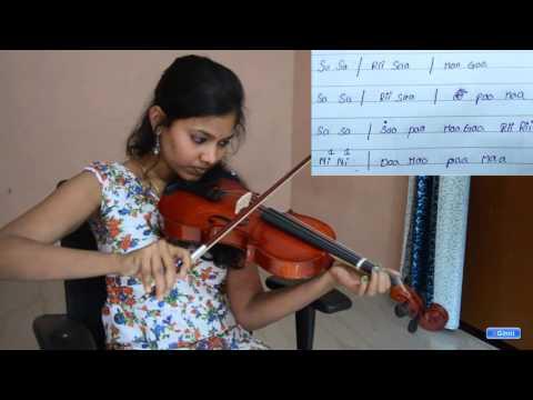 Happy Birthday Song Violin