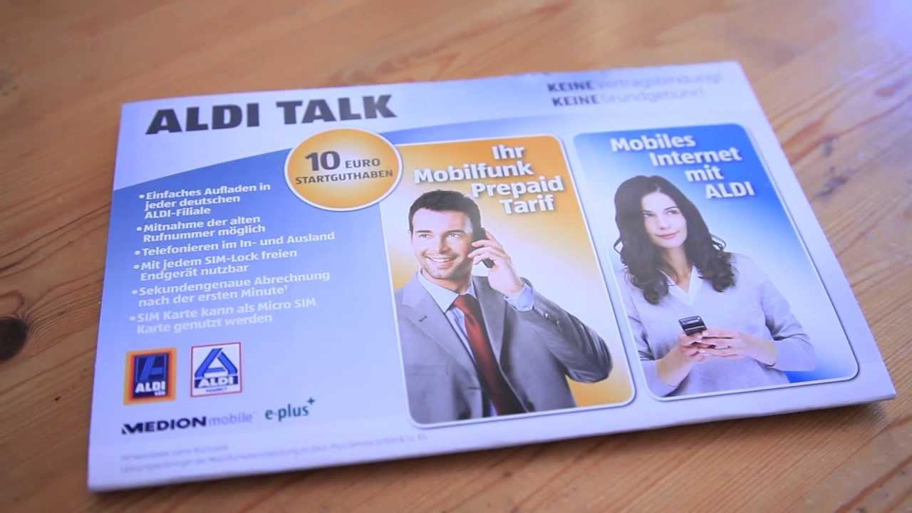 Aldi Talk Karte Aufladen.Aldi Talk Online Aufladen Ja Es Geht