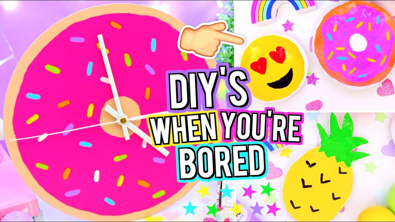 Diy Room Decor To Do When You Re Bored Easy Ideas