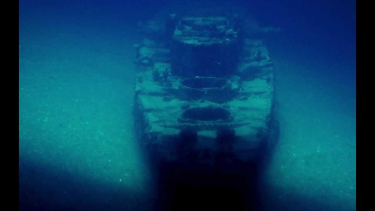Bismarck Wreck Underwater Diorama 1 1200 Wrack Youtube