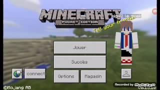 Comment se connecter à la Xbox live sur minecraft pe