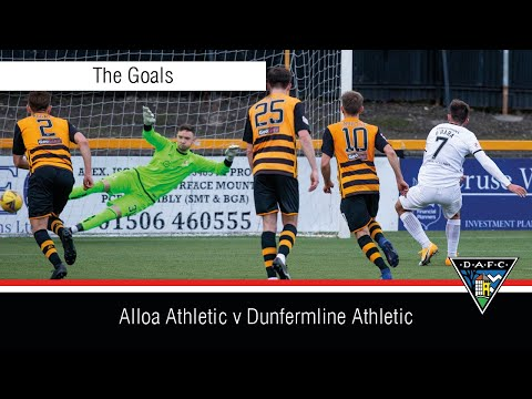 Alloa Dunfermline Goals And Highlights