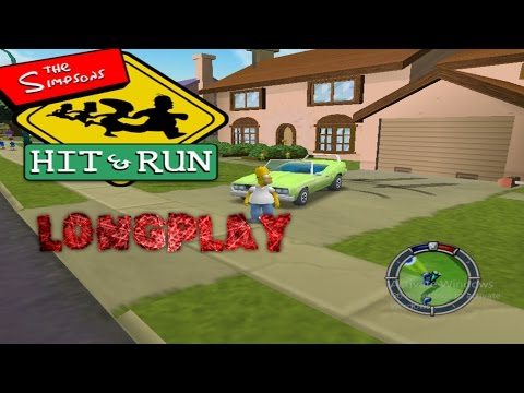 Simpsons Hit & Run Longplay