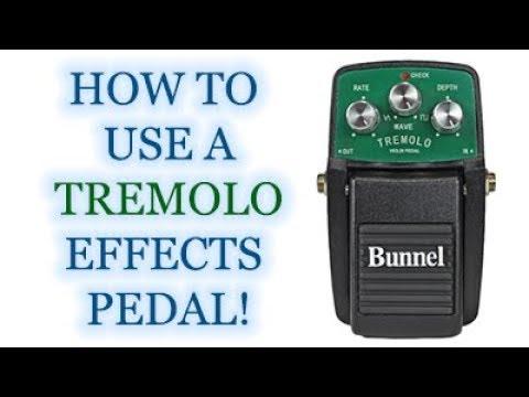 Bunnel Tremolo Effects