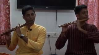 Pal Pal Hai Bhaari  - FILM Swades  Flute Recital – Saket Pranaam -4 -  Hari&Vishnu   M2U02326