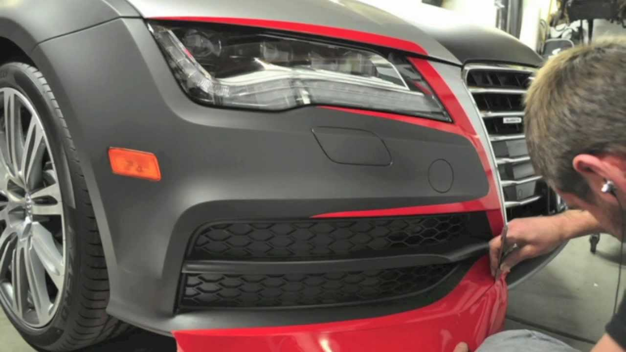 Audi A7 Custom Wrap Install Youtube