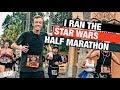 Running the Disney Star Wars Half Marathon! // DCP.40