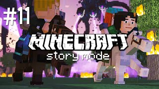 SAVE THE HORSES! - MINECRAFT STORY MODE (EP.11)