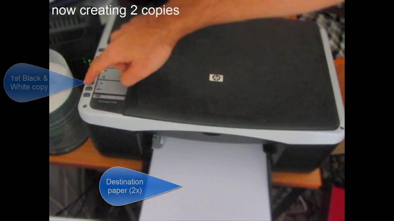 фото инструкция для замены катриджа принтере np deskjet f2180