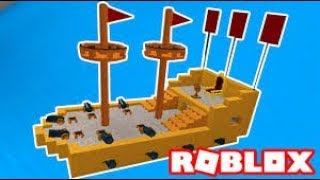you do the most robust ship ROBLOX//build A Boat For Treasure/part #1
