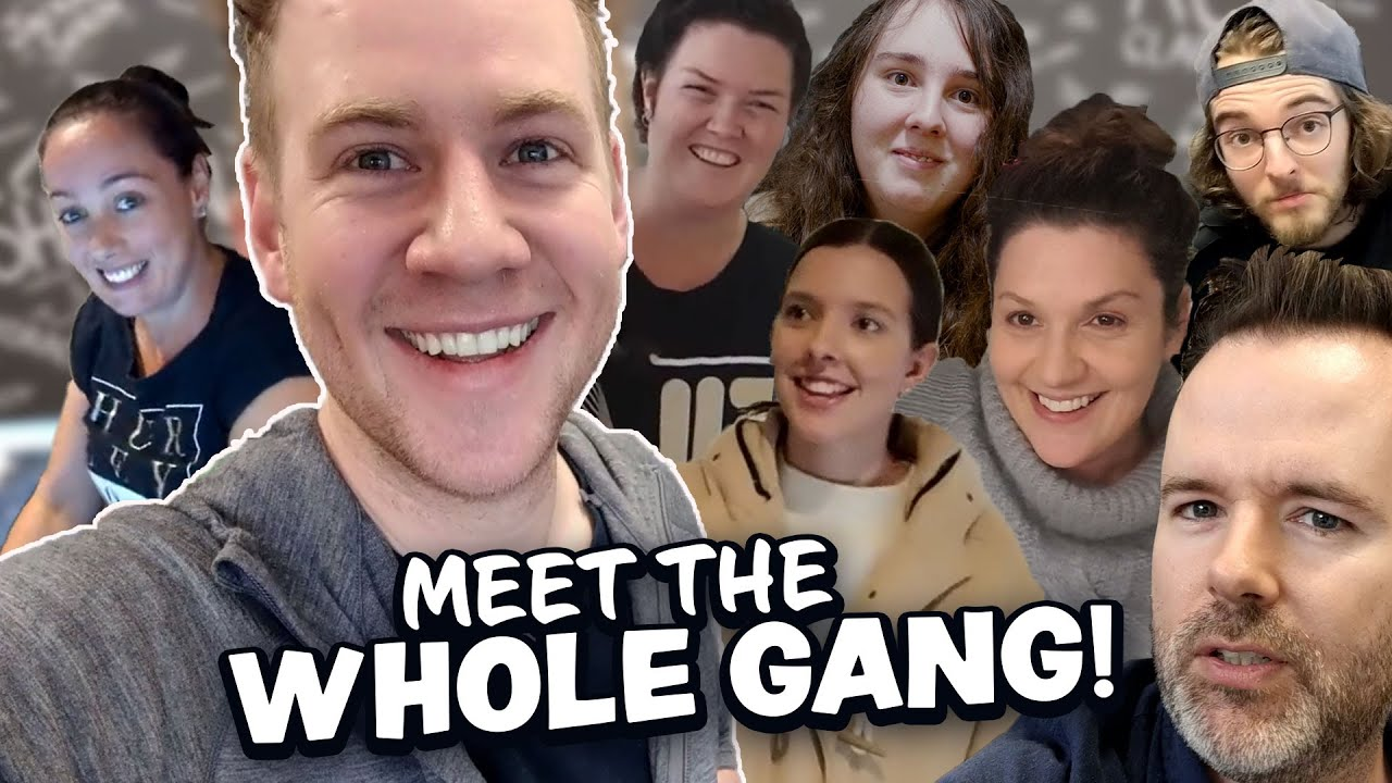 Meet the TEAM behind the Videos! (almost) 400k Special!