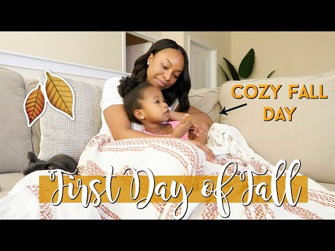First Day Of Fall Routine! 🍂 Baking Fall Treats, Candle Shopping & Cozy Night In!   Single Mom Vlog