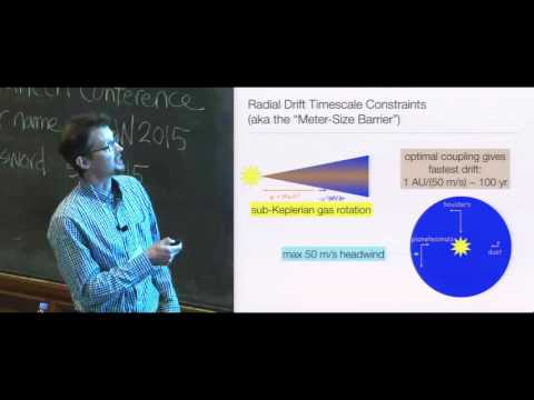 Formation of Planetesimals and Large Cores — Andrew Youdin (Univ  of Arizona) 2016