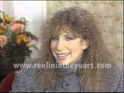 Barbra Streisand Interview 1983 Yentl Brian Linehan's City Lights