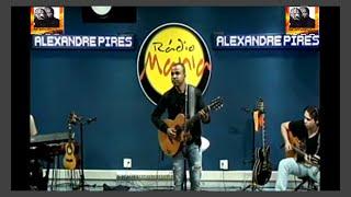 Alexandre Pires - ao vivo Radio Mania - 03/08/2015