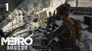 METRO EXODUS - Gameplay Walkthrough - PART 1 - (LIVE STREAM) - IT'S GOOD TO BE BACK