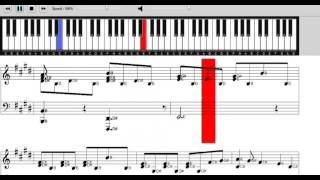 All i ask piano sheet music