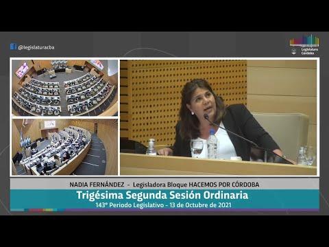 Trigésima Segunda Sesión Ordinaria 143 Periodo Legislativo -  13 de Octubre 2021