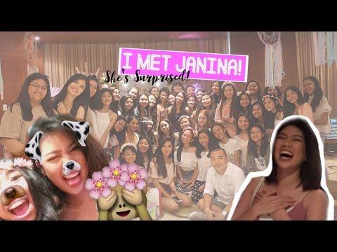 VLOG: The #Velafam Surprised Janina Vela! (Taglish) (Philippines)   AltheaRae