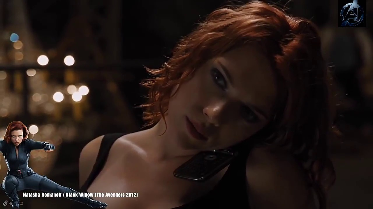 Black Widow Transformation From  With Best Sexy Scenes