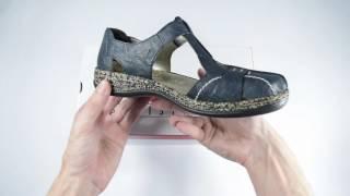 e7e2992ad09b3 Dámske sandále Rieker 46380-14 /1301000/