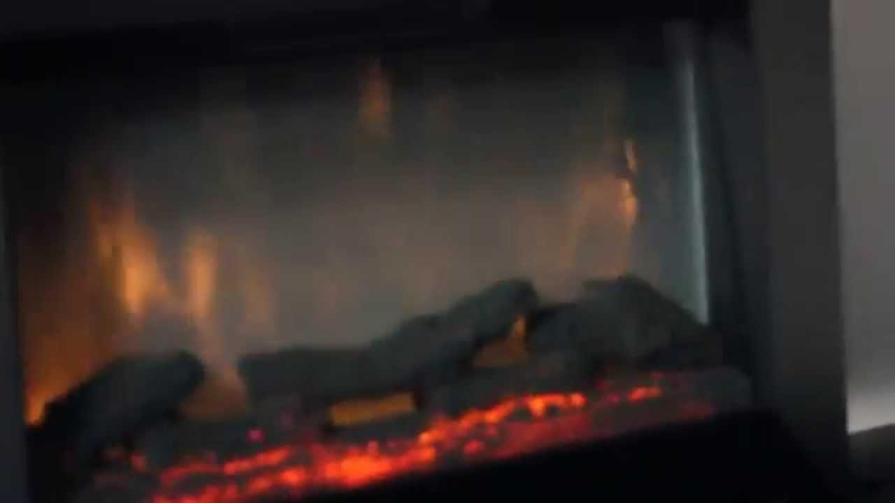 Camino caminetto elettrico da muro fuoco e legno stufa 2000w con telecomando youtube - Convettori elettrici da parete ...