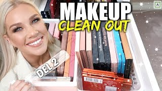 MAKEUP CLEAN OUT ❌ Paletter, Mascara, Eyeliners osv!