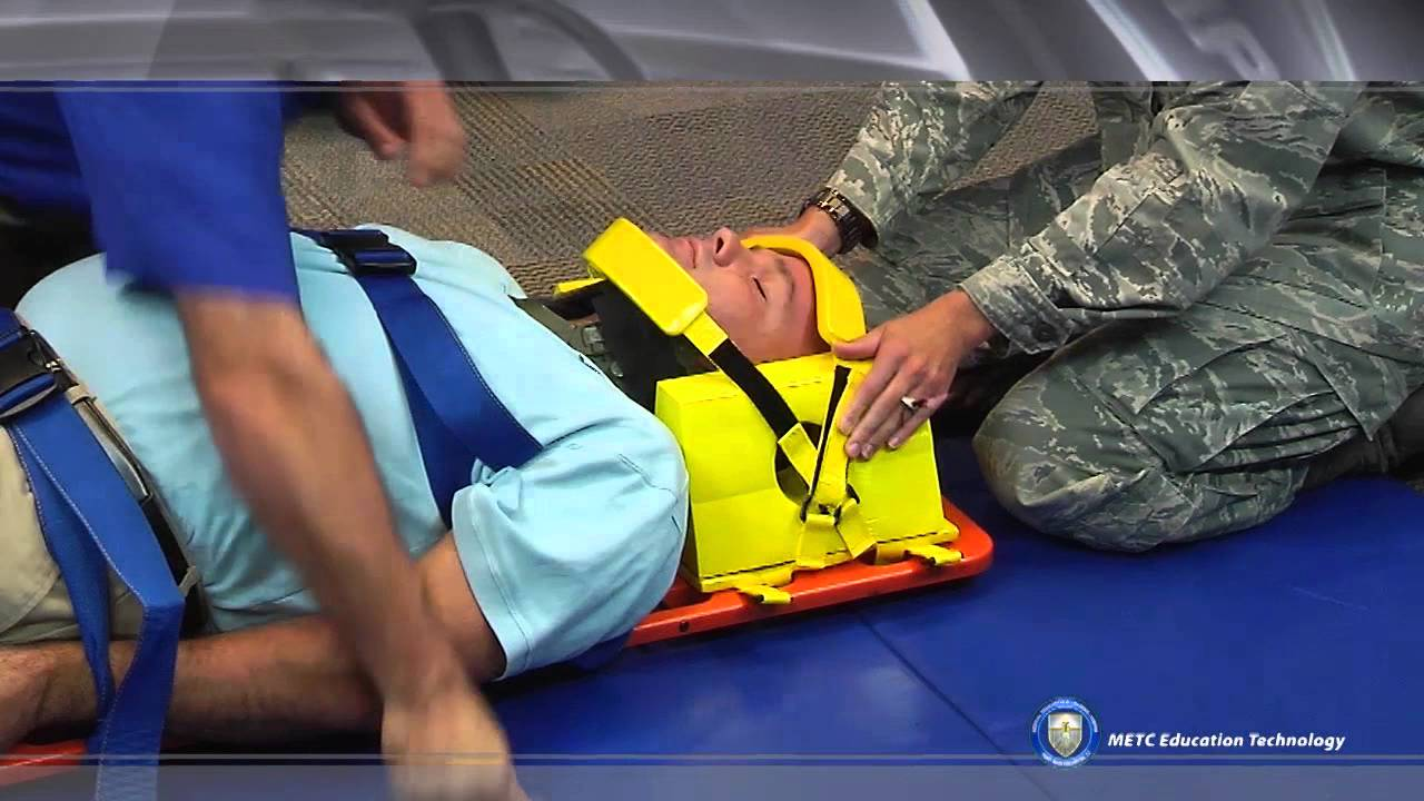 spine immobilization long spine board bmtcp youtube