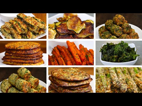 Download Youtube: 10 Easy Low-Carb Veggie Snacks