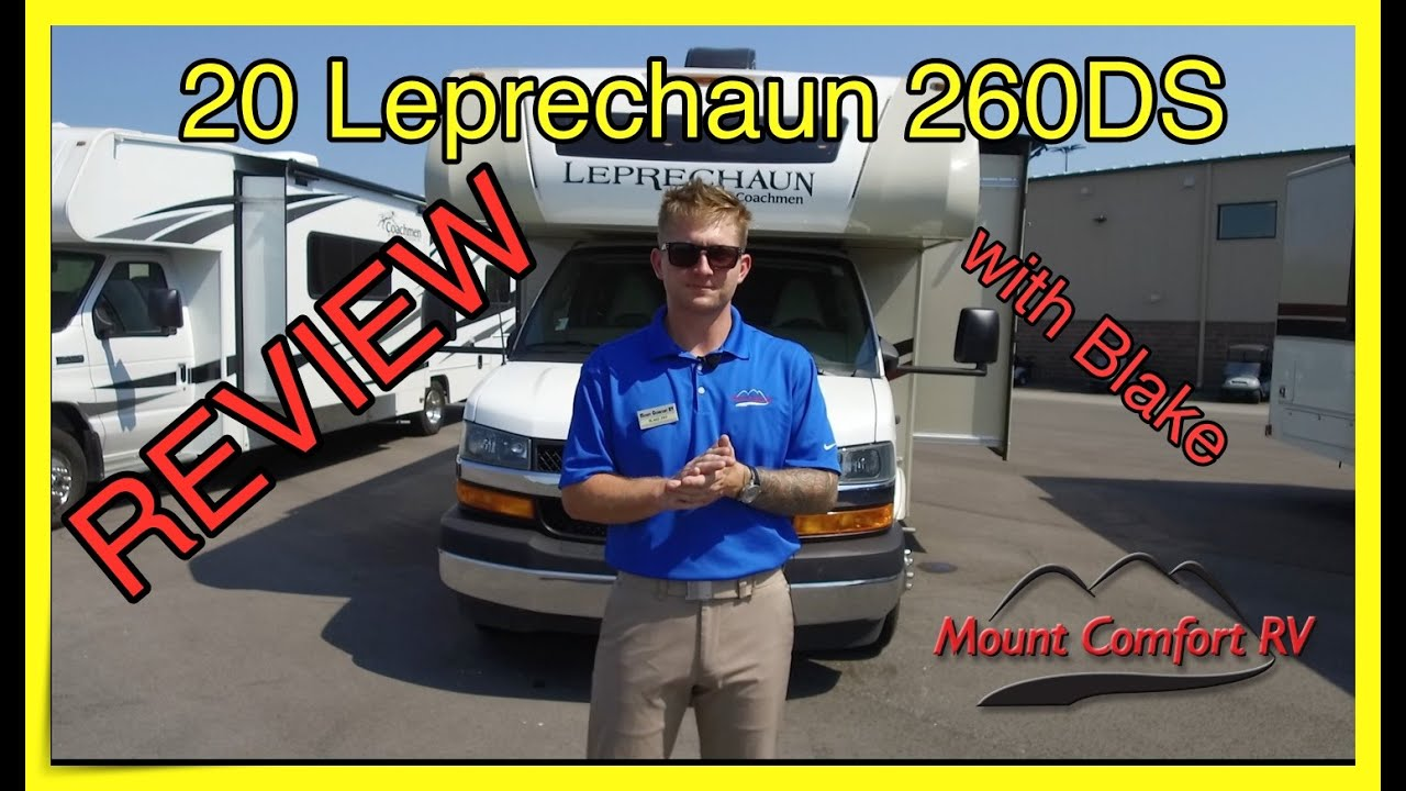 2020 Leprechaun 260DS Review with Blake | Mount Comfort RV